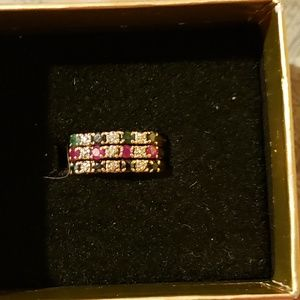 10kt gemstone ring